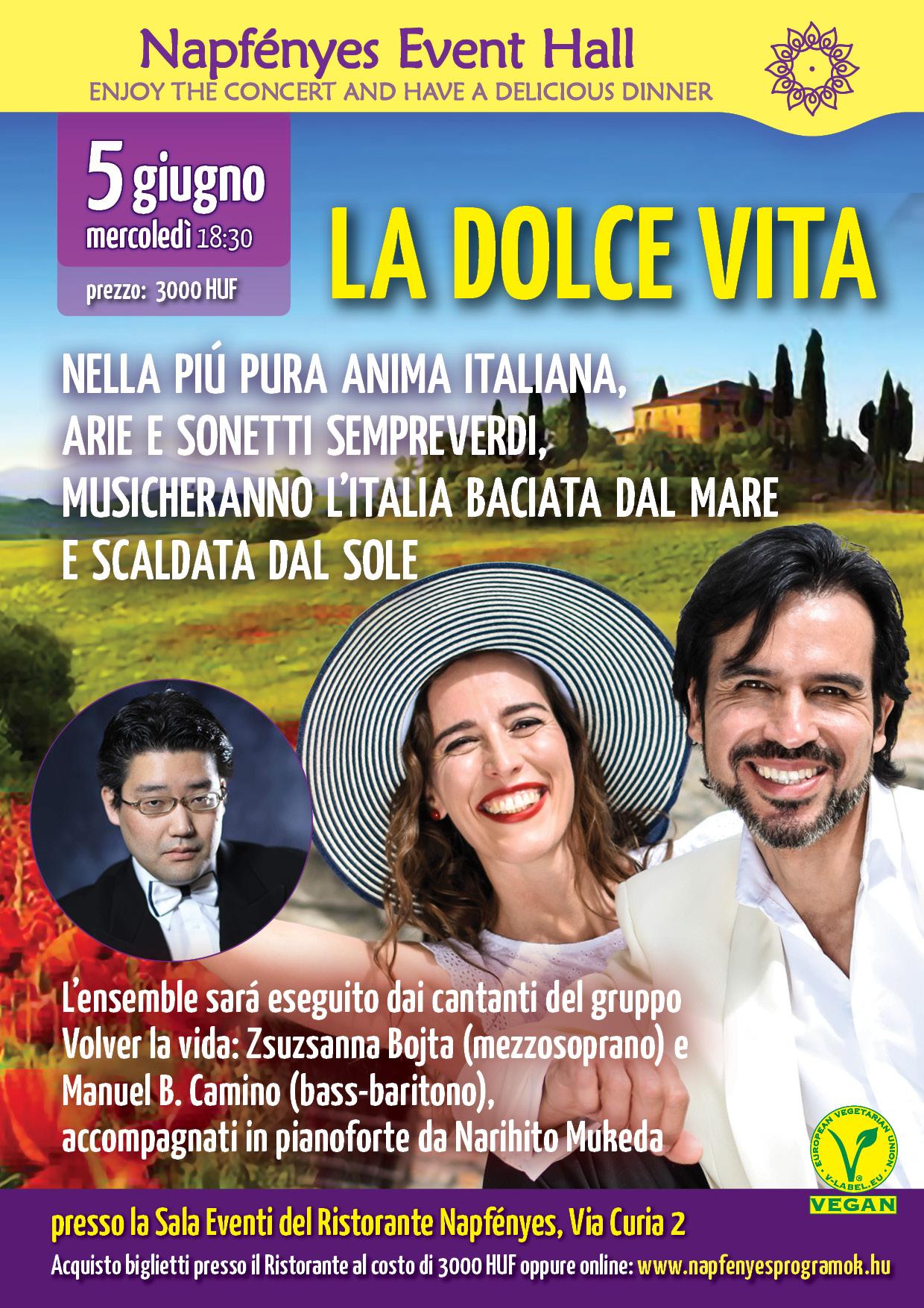 La Dolce Vita A4 Olasz