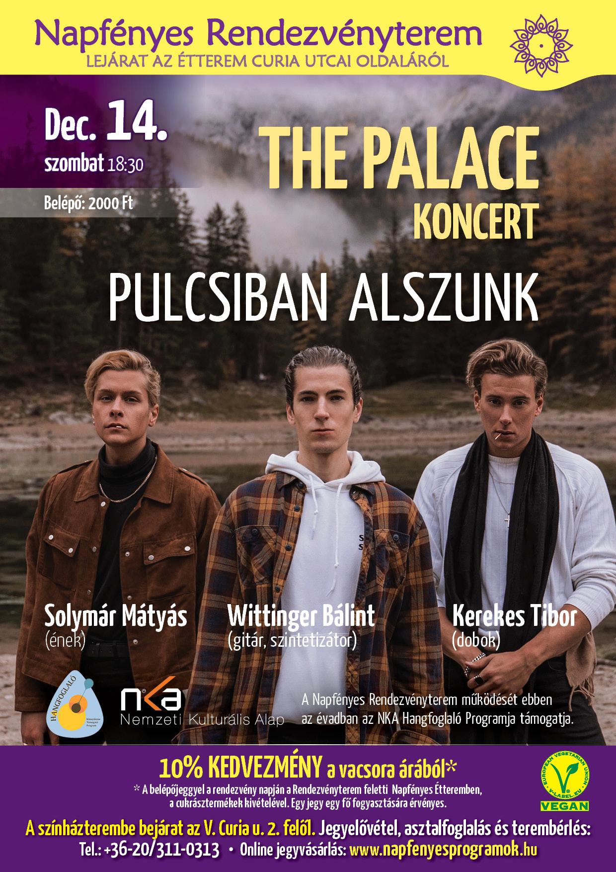 The Palace Pulcsiban alszunk A4