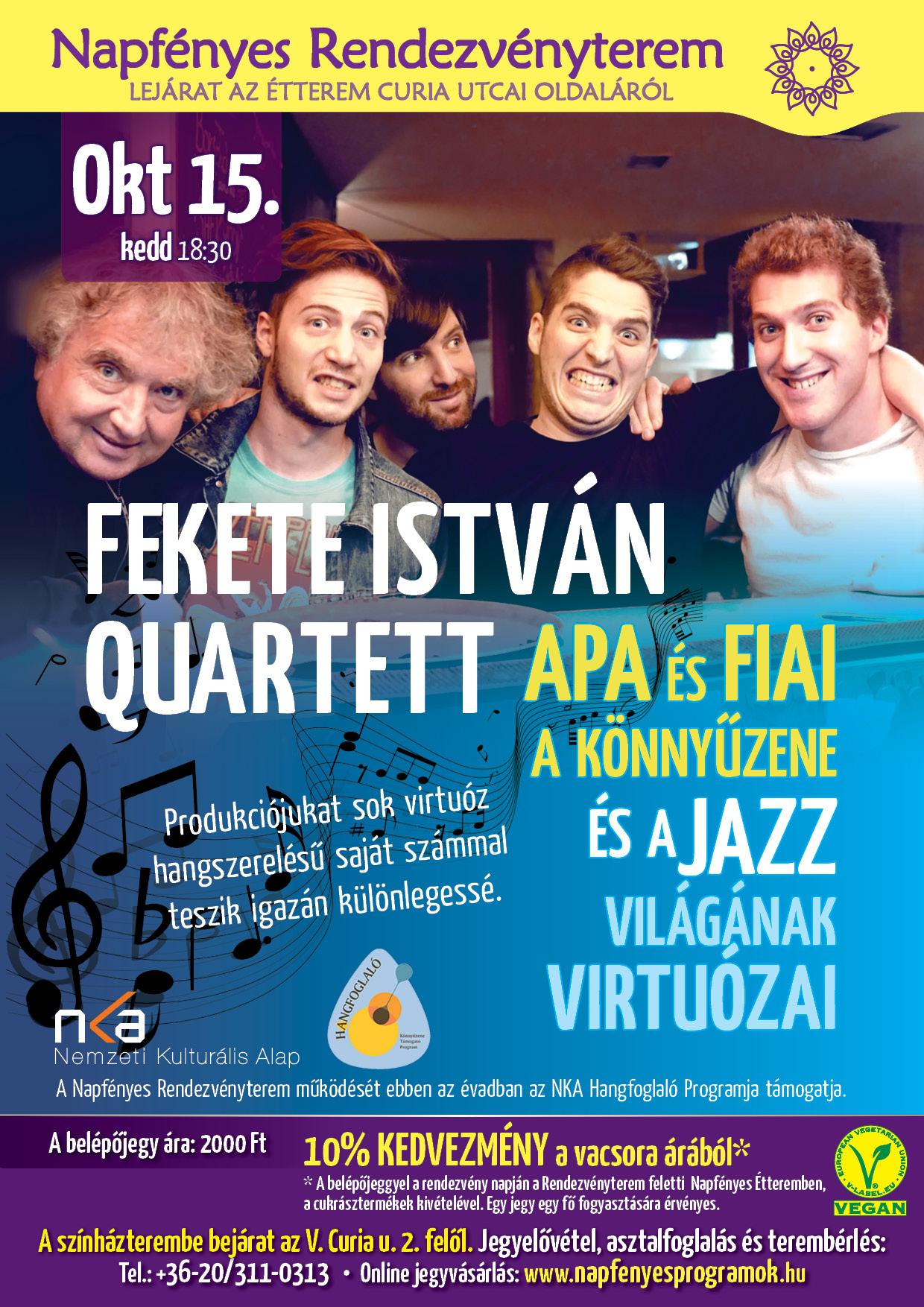 Fekete I Quartett A4
